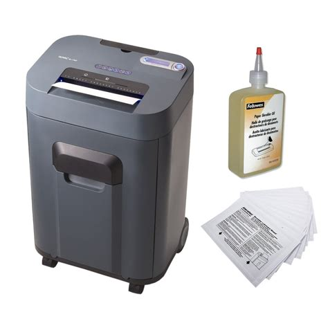 cross cut paper shredders royal 17 sheet cross cut paper shredder with fellowes 12 oz