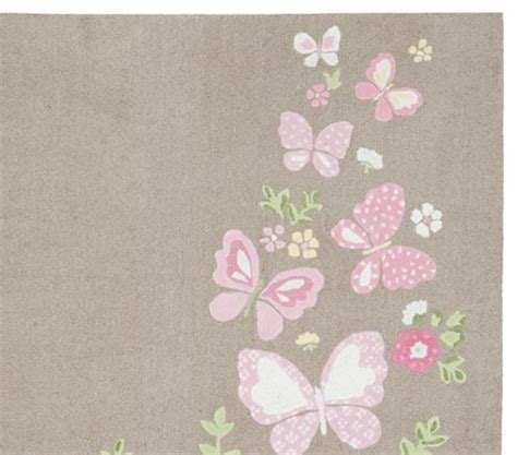 Camille Rug Pottery Barn Kids Pottery Barn Butterfly Rug