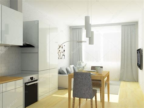 kleine küche design layout deckenleuchten modern design