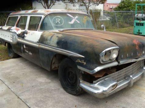 western pontiac buy new 1958 pontac chief station wagon complete