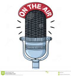 Radio Handset Clip Art Radio Microphone Illustration Stock Illustration Image