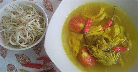 resep soto khas solo enak  sederhana cookpad