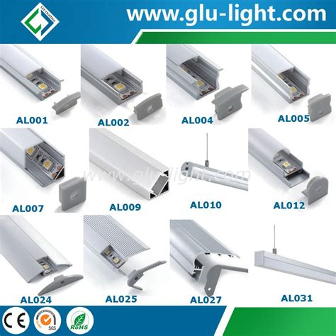 Lu Led R15 aluminium led profile recessed linear led light bar manufacturers and suppliers china factory