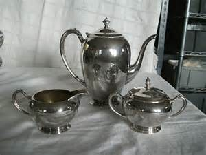 home decorators inc silver coffee tea creamer amp sugar set swedemom vintage home decorators inc silver plated