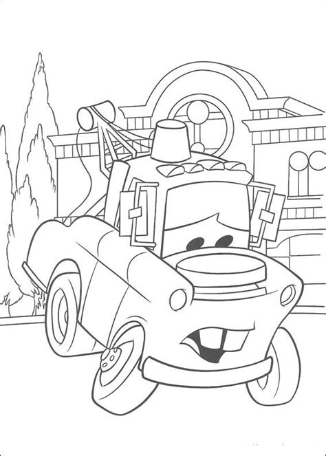 mater cars coloring page cars party ideas pinterest