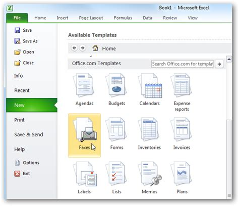 ms excel templates image gallery excel 2010 templates