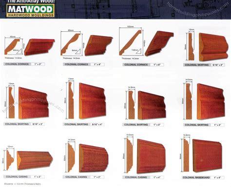 cornisa wood philippines hardwood moulding cornice skirting casing baseboard