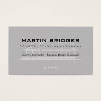 general contractor business card templates handyman business cards templates zazzle