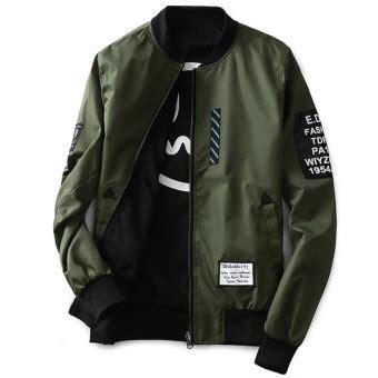 Grandwish Printing Jackets Thin Coat Korean Design Slim M 1 grandwish sided wear jacket bomber jackets letter print coat m 5xl army green