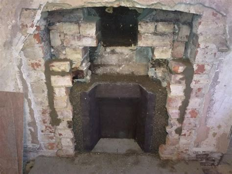 Fitting A Fireplace Insert by Fitting Clay Fireback And Cast Iron Instert More