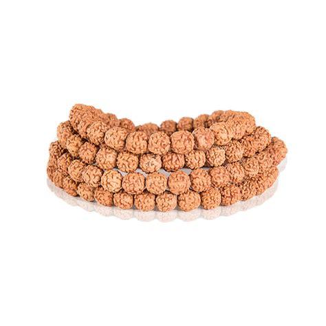 108 Bead YOGA Buddhist Prayer Natural Rudraksha Mala Necklace Bead Bracelet For Women And Men