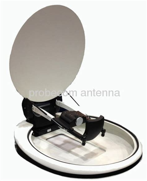 120cm auto tracking mobile vsat antenna from china manufacturer probecom microwave technology