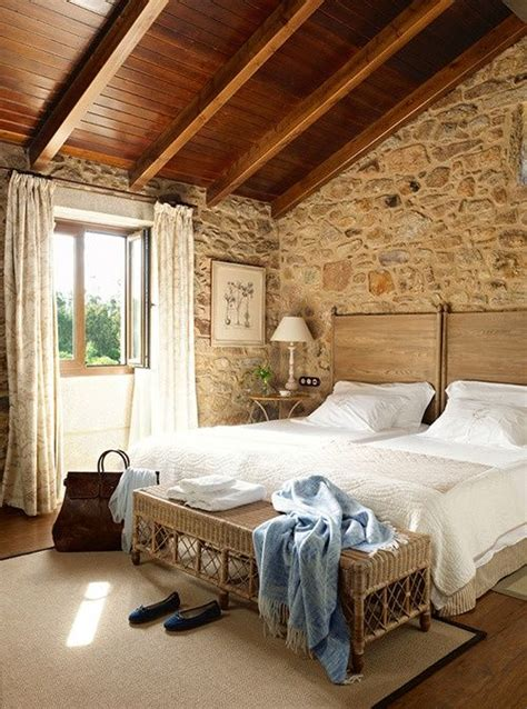 rock wall in bedroom bedroom love the stone walls beddybye pinterest