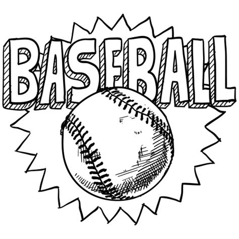 Coloring Pages Of Baseball baseball coloring coloring coloring pages