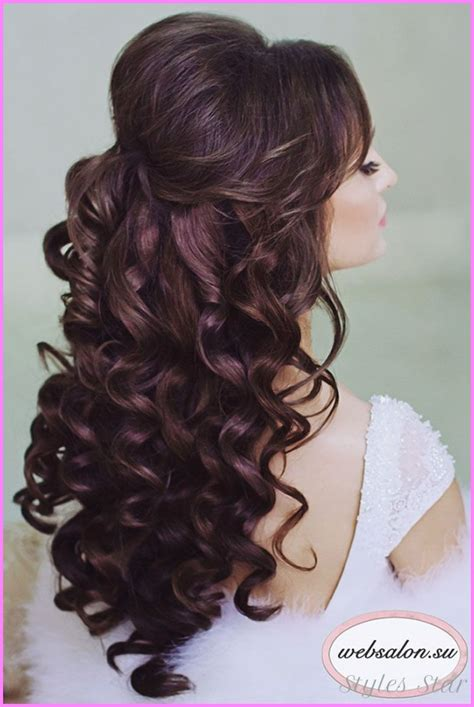 Wedding Hairstyles For Bridesmaids Half Up Half by Bridesmaid Hairstyles Half Up Half Stylesstar