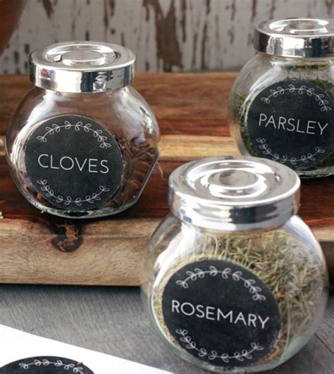 to a pretty life pretty spice labels vases pinterest spice