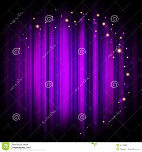 Maxy Dewi Purple purple stage background with lights stock vector