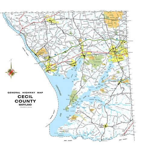 maryland map cecil county maps of cecil co md 1858