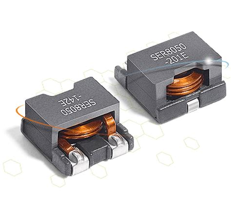 high current inductors coilcraft ser80xx series high current shielded power inductors farnell element14