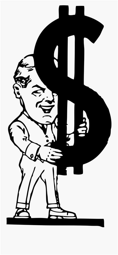 Man Carrying Dollar Sign - Money Is My Life Quotes , Free