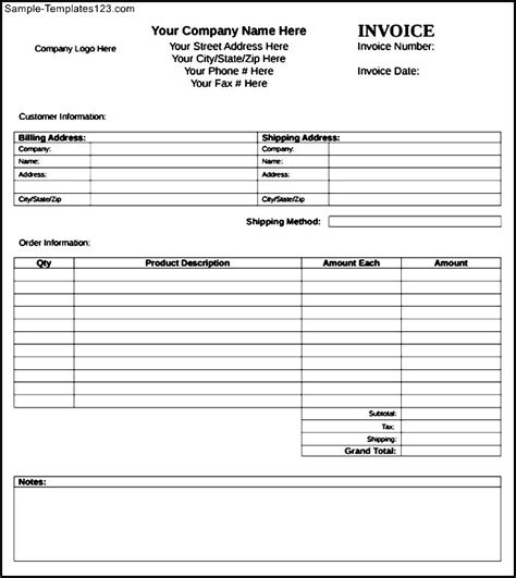 microsoft publisher invoice template sle templates
