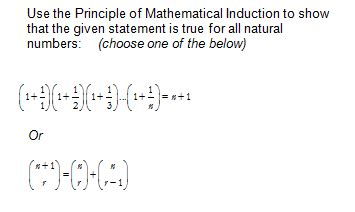 principle of mathematical induction questions and answers advanced physics archive march 07 2013 chegg
