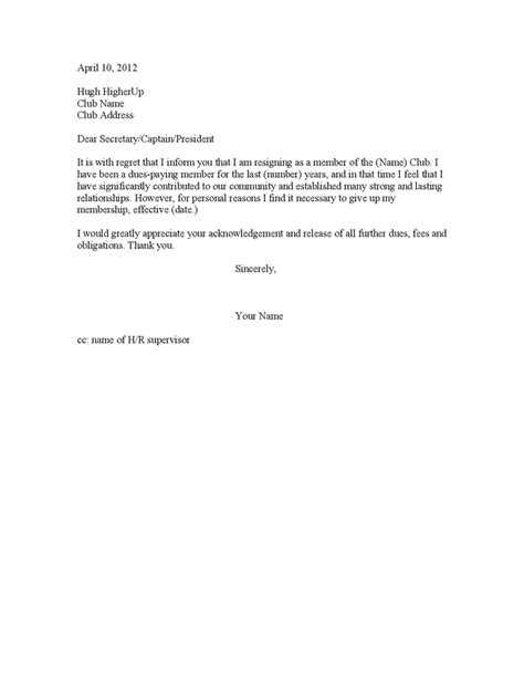 Withdrawal Letter From Union Best Photos Of Letter Of Resignation Resignation Letter Sle Write A
