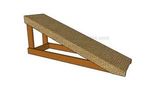 Ramp How To Build A Shed Ramp Howtospecialist How To Build