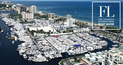 fort lauderdale boat show on the water the fort lauderdale international boat show southern boating
