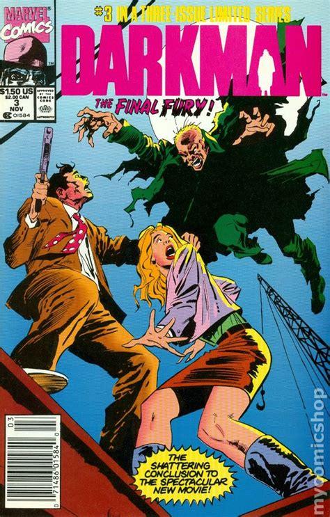 film with cartoon books darkman 1990 movie comic books