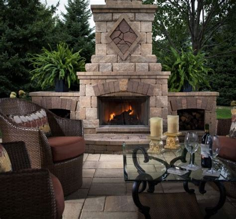 Modular Outdoor Fireplaces - 680 best outdoor fireplace pictures images on pinterest outdoor fireplaces backyard ideas and
