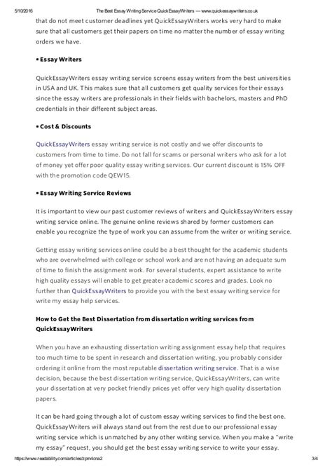 best essay writing service the best essay writing service quickessaywriters www