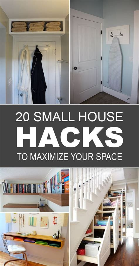 home design hacks 20 small house hacks to maximize your space small space living tips and inspiration small