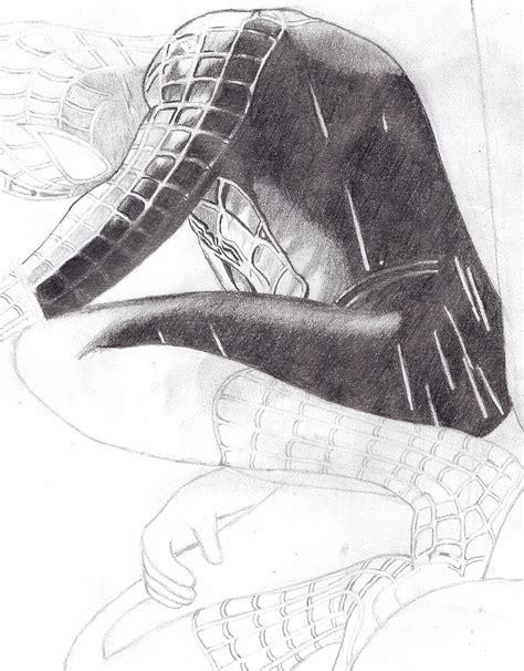 imagenes de spiderman para dibujar a lapiz spiderman negro dibujo propio arte taringa