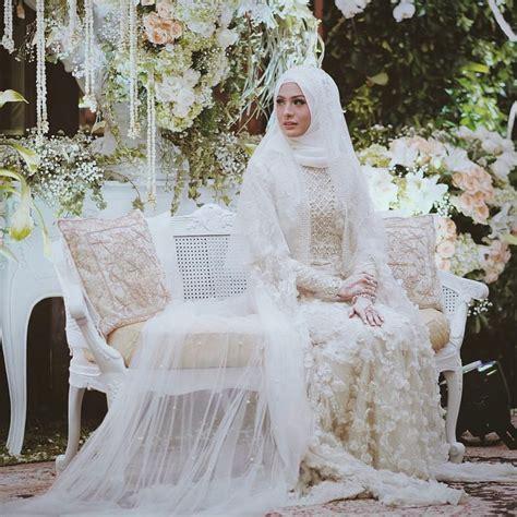 Gaun Muslimah Elegan 12 desain gaun pernikahan muslimah elegan nan sederhana