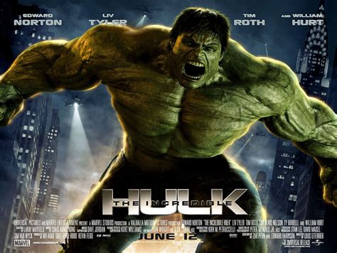 The Incredible Hulk 2008 Film Road To The Avengers The Incredible Hulk Comic Book Daily