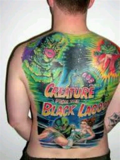 creature from the black lagoon tattoo 192 best images about horror tattoos on