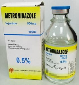 Metronidazol 500mg 10 S metronidazole injection quality metronidazole injection for sale