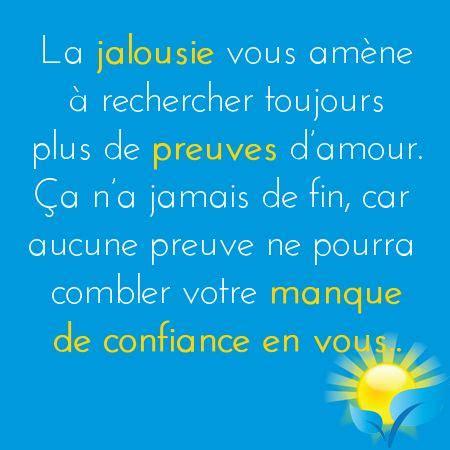 la jalousie citations - La Jalousie En Amitié