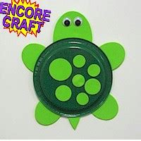 Turtle Paper Plate Craft Template - how to made paper plate turtle fit for