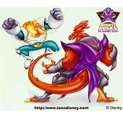 Image  Wildwing Vs Lord Dragaunusjpg Disney Wiki