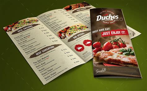 restaurant menu templates psd 40 effective psd restaurant menu design templates web