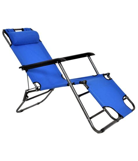 Relaxation Chairs India by Relax Folding Chair Bed Blue Buy Relax Folding