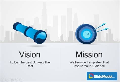 templates for vision and mission statements vision and mission statement exles ppt
