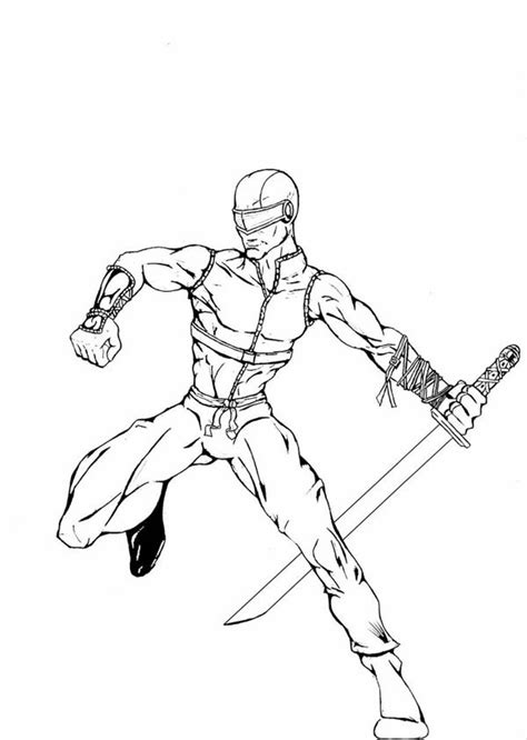 printable snake eyes gi joe coloring pages snake eyes coloring pages ideas