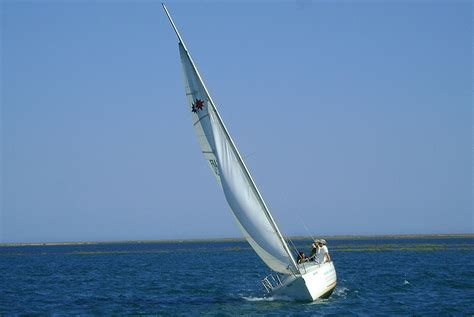 sailing boat trip rent a sailing boat in ria formosa en lands