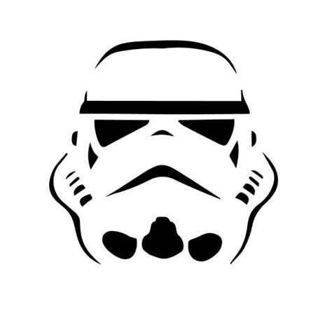 Stormtrooper Template not another list of free pumpkin carving patterns
