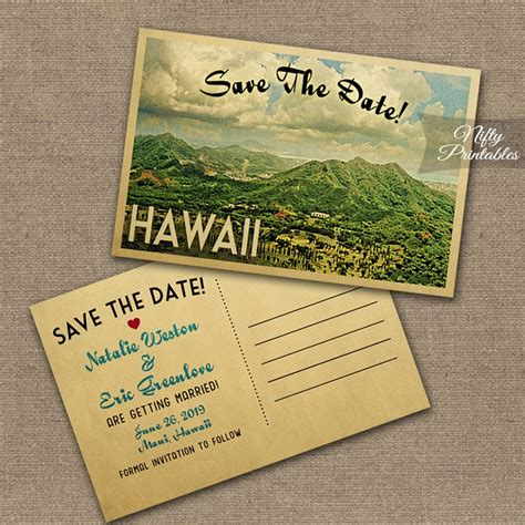 Hawaiian Theme Wedding Invitation To Email by Hawaii Wedding Invitations Vtw Nifty Printables