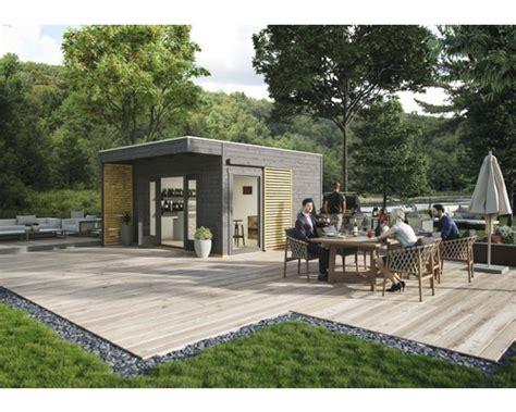 Gartenhaus Holz Grau