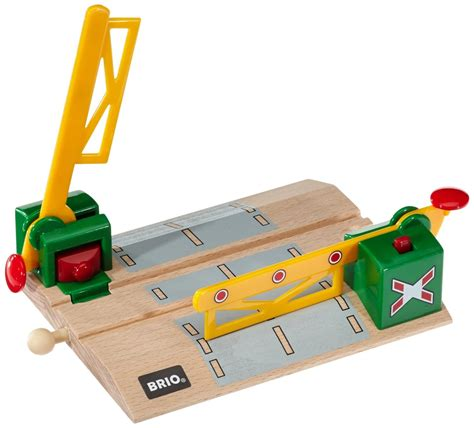 brio train crossing brio magnetic action crossing 33750